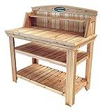 Suncast Cedar Freestanding Bench Ideal for