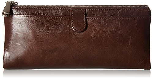 Hobo Womens Leather Vintage Taylor Clutch Wallet (Espresso) by HOBO