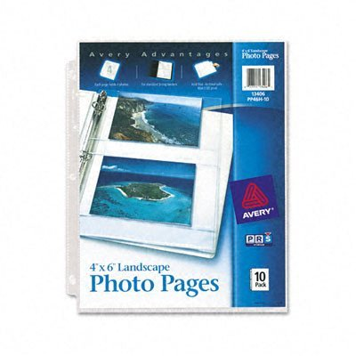 (Avery Horizontal Photo Pages)
