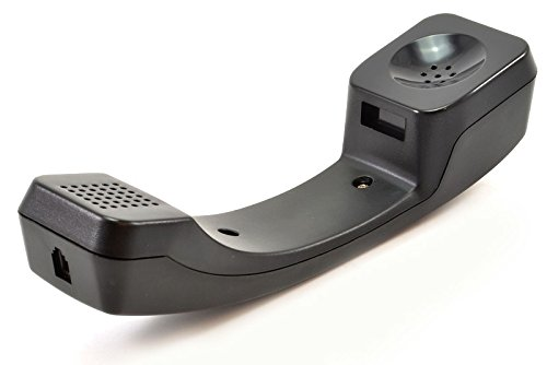 The VoIP Lounge Black Handset for Inter-Tel / Mitel Axxess 8600 Series IP Phone 8622 8662 8600 8620 (Tel Inter Voip)