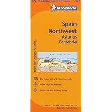 Spain: Asturias, Cantabria MH572 1:400T