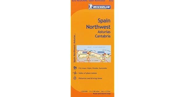 Amazon.com: Michelin Spain: Northwest, Asturias, Cantabria ...