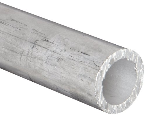 Aluminum 6061-T6 Seamless Round Tubing, ASTM B210, 7/8