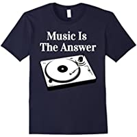 Record Player Turntable DJ T-Shirt - Vinyl Junkie Shirt