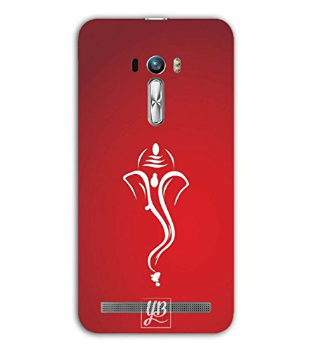 YuBingo Designer Printed Plastic Mobile Back Case Cover Panel for Asus Zenfone Selfie  My Friend Ganesha