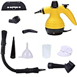 CleanWise ® All-in-One Handheld Steam Cleaner, Multi-Purpose HIGH Pressure Pressurized Steam with Safety Lock and 9 Free Accessories for Home, Auto, Patio, More