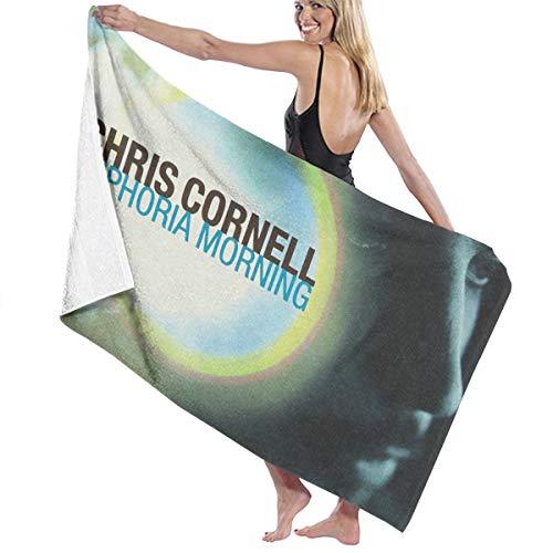 Mabb Chris Cornell Euphoria Morning Bath Towel Beach/Pool Towel Adult Quick Dry Towel for Yoga Gym Beach 51