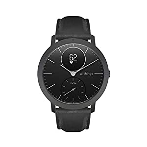 Withings Steel HR – Hybrid Smartwatch – Activity Tracker with Connected GPS, Heart Rate Monitor, Sleep Monitor, Smart Notifications, Water Resistant with 25-Day Battery Life