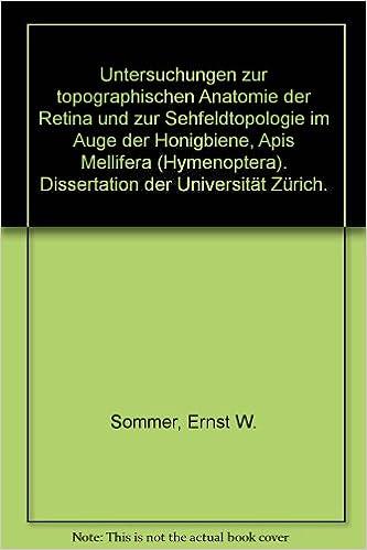 Untersuchungen zur topographischen Anatomie der Retina und zur ...