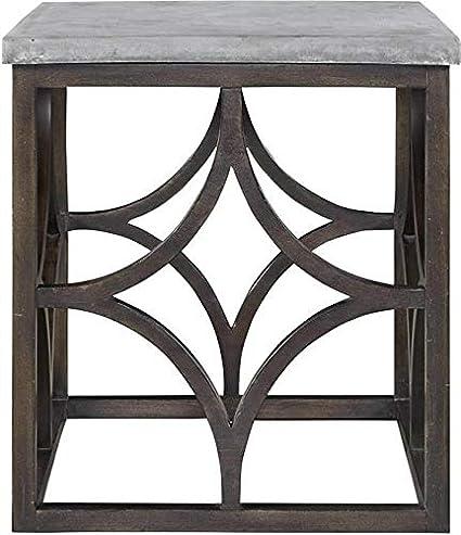 Amazon.com: Universal Furniture End Table Foulard Vicuna ...
