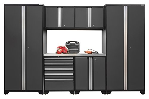 NewAge Products 52053 Pro 3.0 Series Stainless Steel Storage Set (7 Piece), Gray by New Age