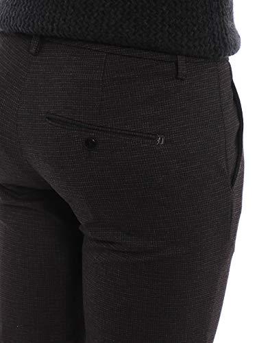 Gaubert Pantaloni Con Cotone In Dondup Micro Uomo Grigio Motivo RBqw1CxC
