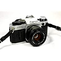 Vintage Canon AE-1 Program 35mm SLR Camera with 50mm...