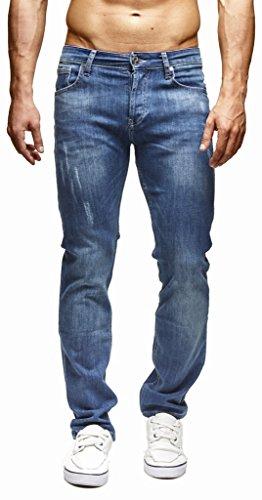 Ln271bl De Leif Regular Des Hommes rf; Fit Jeans Nelson W31l34 Loisir Denim Pour Stretch Pantalon 00TqR7nw