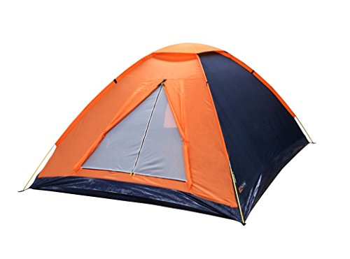 NTK Panda 4 Person 6.7 by 6.7 Foot Sport Camping Dome Tent