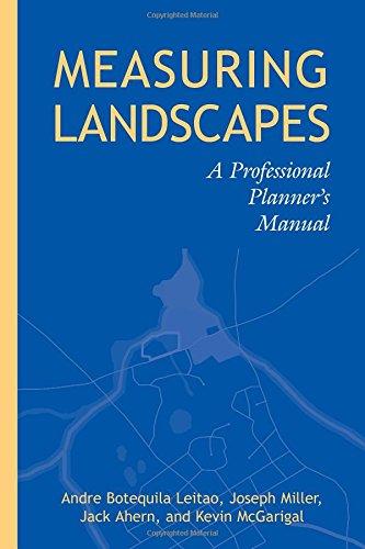 Measuring Landscapes: A Planner's Handbook