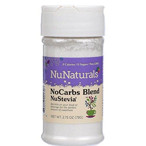 NuNaturals Stevia Sweetener NoCarb Blend - 2.75 ()