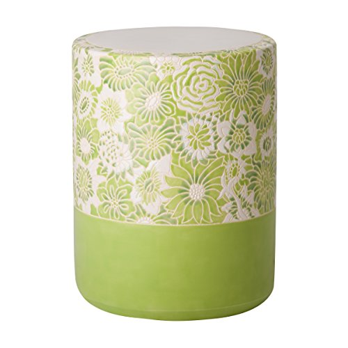 Emissary Home & Garden Fleur Stool Green Apple