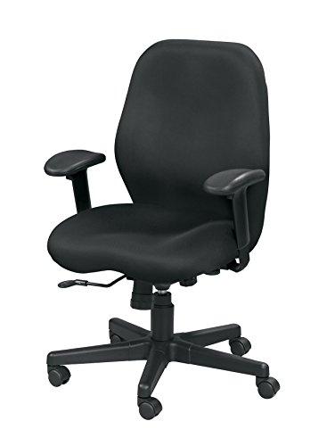 Eurotech Seating Aviator MM5506 Swivel Tilt Mesh Chair, Black