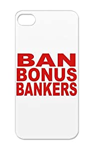 Red Ban Bonus Bankers Humour Funny Provocative Bank Worker Ban Bonus Bonuses Provocative Bankers Funny Protective Case For Iphone 5