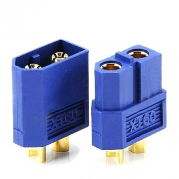 Amass XT60 Male//Female Bullet Connector Plugs Blue For RC Lipo Battery