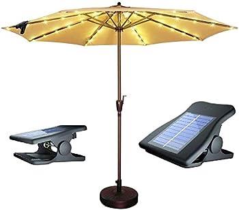 Suplit Solar Patio Umbrella Lights