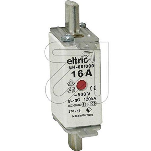 3er Pack NH-Sicherungseins/ätze 00//16A 370716//33 alternativ: D223678