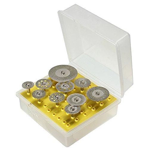 mark8shop Lot de 10/disques de coupe de diamant roue pour Dremel Outil rotatif
