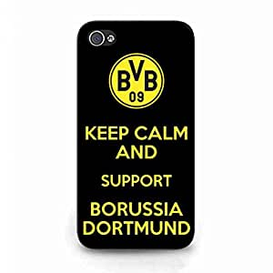 Luxury Borussia Dortmund Logo Phone Funda,Borussia Dortmund Cover Phone Funda,IPhone4/IPhone4S Funda