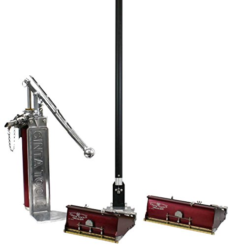Cinta drywall flat box finishing set with 2 flat boxes for Drywall delivery cost