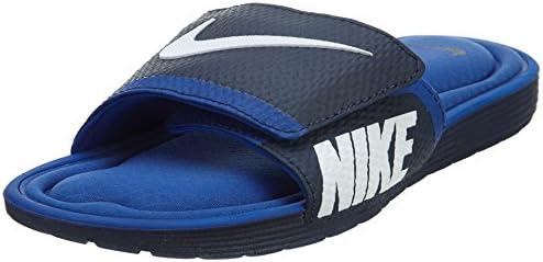 NIKE Men's Solarsoft Comfort Slide Sandal, Midnight Navy ...