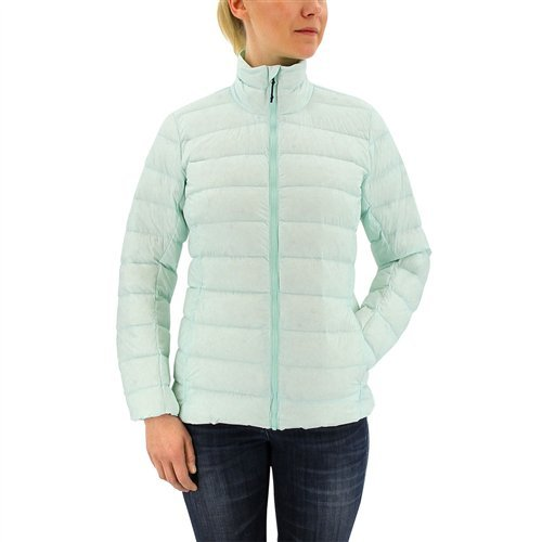 adidas Outdoor Women's Light Down Jacket, Ice Mint/Ice Green, X-Small