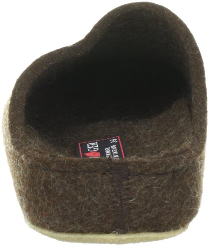 Haflinger Grizzly Braun Chaussons Adulte Mixte Michl 552 schoko rraqw5Hg