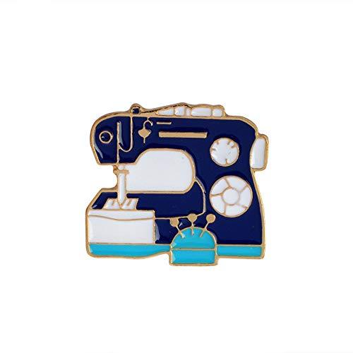 Broches y alfileres Paleta inodoro pirámide máquina de coser detergente placa de herramientas crisantemo suministros diarios pin de dibujos animados, ...