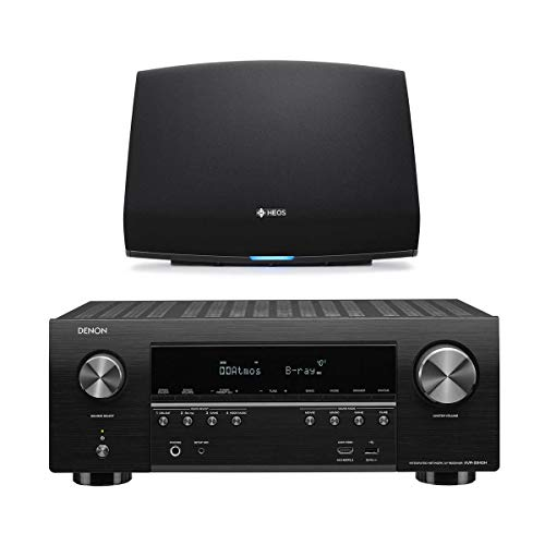 Denon AVR-S940H 7.2 Channel 4K Ultra HD AV Receiver HEOS 5 Wireless Streaming Speaker - Series 2 (Black)