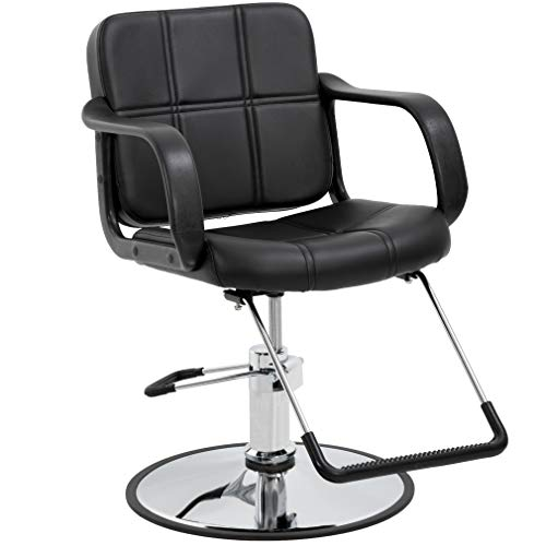 Barber Chair Salon Chair Styling Chair Heavy Duty Beauty Salon Barber Swivel Chairs Hydraulic Pump Profession Shampoo Hair Cutting Chairs Salon Equipment