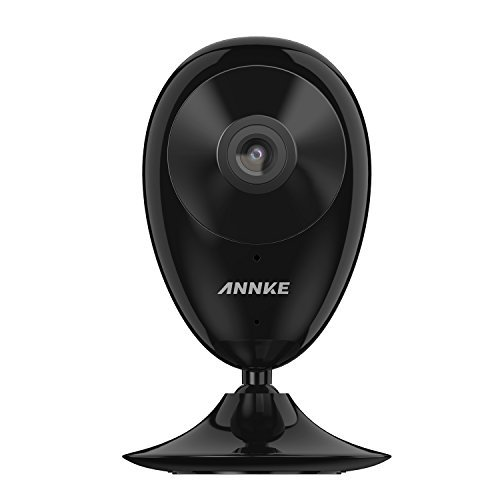 ANNKE Nova S 1080P HD Mini IP Camera with 2 Way Audio, Night Vision, Work with Amazon Alexa and Cloud Service Available