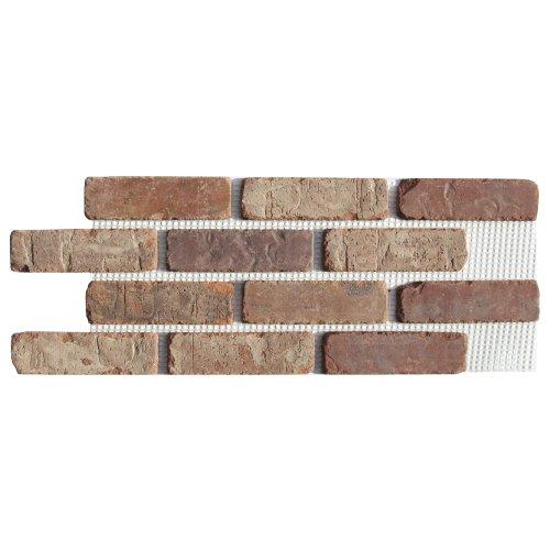 Brickweb Thin Brick Box of Castle Gate Flat Sheets - 8.7 Sq. Ft.