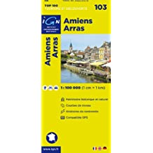 IGN TOP 100 NO.103 AMIENS, ARRAS