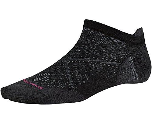 Smartwool Women's PhD Run Ultra Light Micro Socks (Black) - Women Run