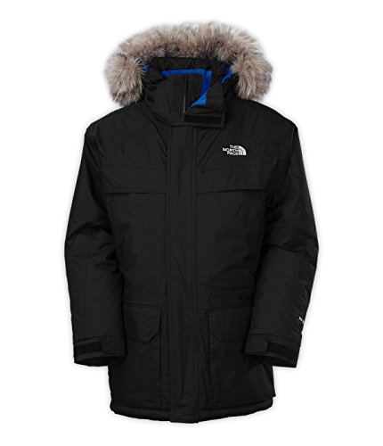Mcmurdo Down Parka (The North Face Boys Down Mcmurdo Parka CHB7N5Y_Y2S, TNF BLACK / SNORKEL BLUE,)