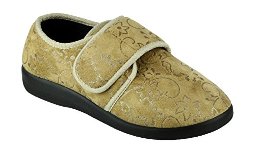 Gbs Med , Chaussons pour femme - Beige - beige, 7 UK