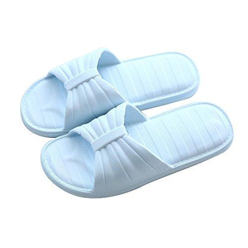Sandales Auspicious antidérapantes confortables femmes de Bleu douche Pantoufles et beginning hommes pour rrEYxgq5Aw