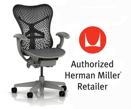 Mirra Chair by Herman Miller: Basic - Pneumatic Lift - Stati