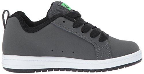 DC Zapatillas de Deporte de Ante Para Niños Green/Grey/White