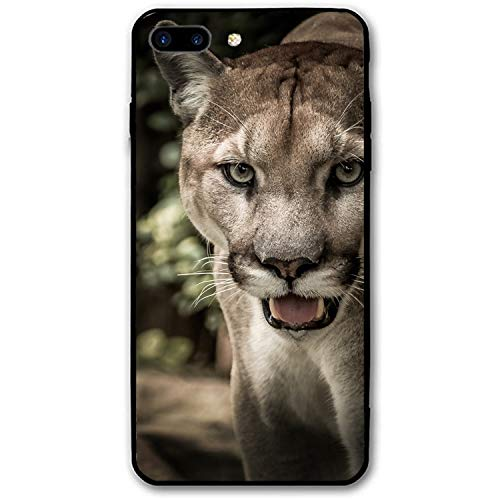Cougar Printed iPhone 7/8 Plus Cover Full Body Protect Compatible for iPhone 7/8 Plus Case 5.5