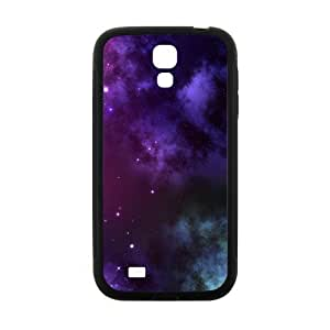 Happy Puple Star Sky Hot Seller Stylish Hard Case For Samsung Galaxy S4