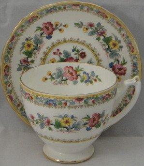 Coalport Ming Rose Oversized Cup & Saucer