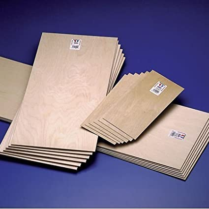 Midwest Thin Birch Plywood 3/16 in. x 12 in. x 48 in. sheet birch general craft/modeling by Midwest