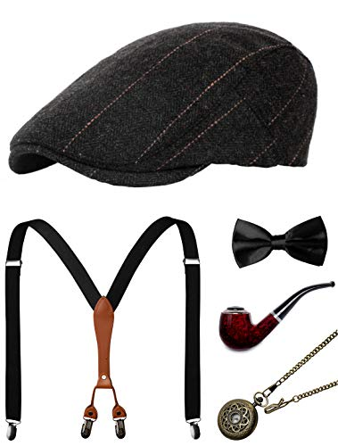 1920s Mens Accessories Gatsby Gangster Costume Accessories